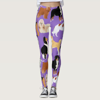 Leggins with dogs leggings