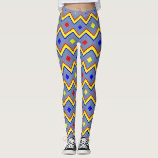 Leggins zigzag leggings