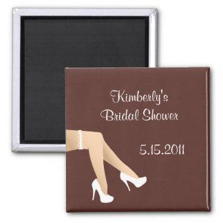 Leggs bridal shower magnet party favor
