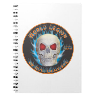 Legion of Evil Dentists Notebook