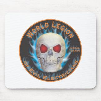 Legion of Evil Electricians Mouse Pad