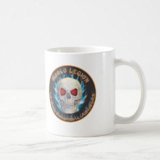 Legion of Evil Financial Advisors Basic White Mug
