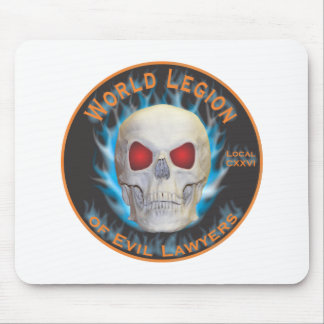 Legion of Evil Lawyers Mouse Pad