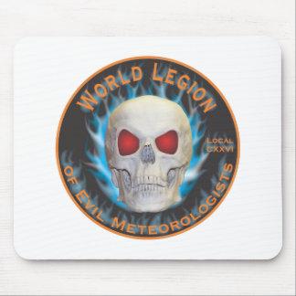 Legion of Evil Meteorologists Mouse Pad