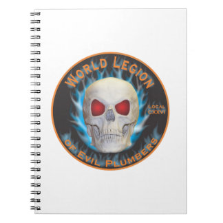 Legion of Evil Plumbers Notebooks