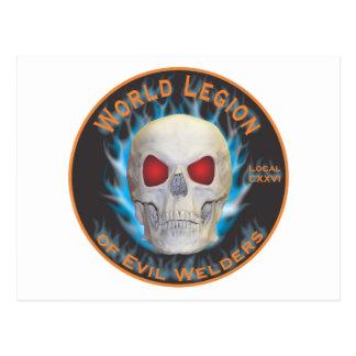 Legion of Evil Welders Postcard