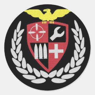 Legionary airsoft team classic round sticker
