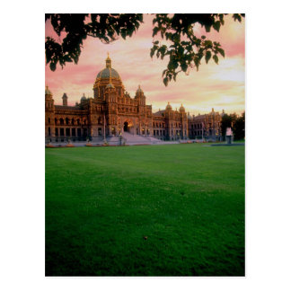 Legislative Building, Victoria, British Columbia, Postcard