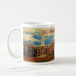 Legislative Hall Delaware Coffee Mug