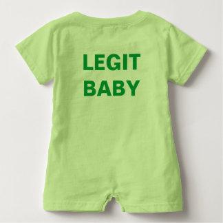 Legit Baby EnLedger Romper Baby Bodysuit