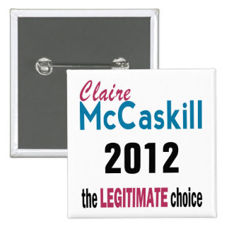 Legitimate Choice 15 Cm Square Badge