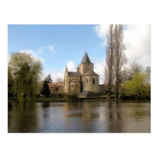 l'Eglise Jazeneuil Postcard
