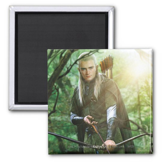 LEGOLAS GREENLEAF™ with bow Magnet
