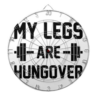 Legs Are Hungover Dartboard