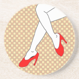 Legs Sandstone Coaster