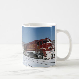 Lehigh Valley EMD No. 311 leads freight, Lehighton Coffee Mug