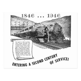 Lehigh Valley Railroad-A Second Century of Service Postcard