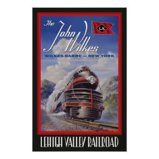 Lehigh Valley Streamliner Poster