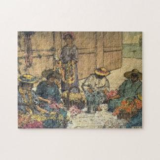 'Lei Day Hawaii' - Charles W. Bartlett Jigsaw Puzzle