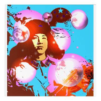 Lei Feng Acrylic Wall Art