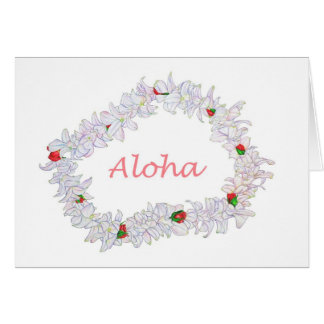 Lei of Aloha Card