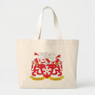 Leicester Coat of Arms Large Tote Bag