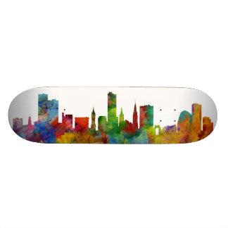 Leicester England Skyline Custom Skateboard