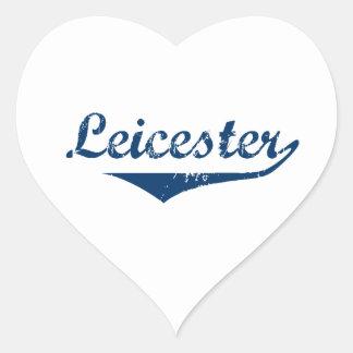 Leicester Heart Sticker