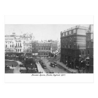Leicester Square 1904, London England, U.K. Postcard