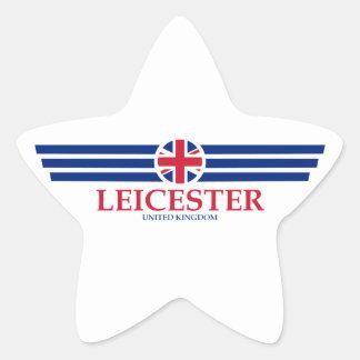 Leicester Star Sticker