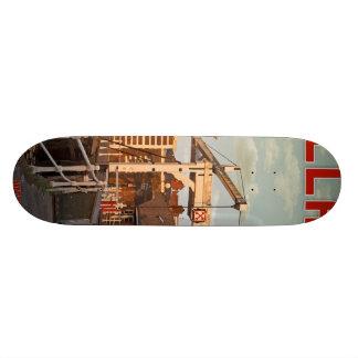 Leiden - Morspoortbrug Skateboard Deck