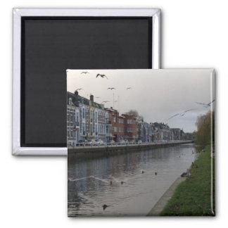 Leidse Rijn canal, Utrecht Square Magnet