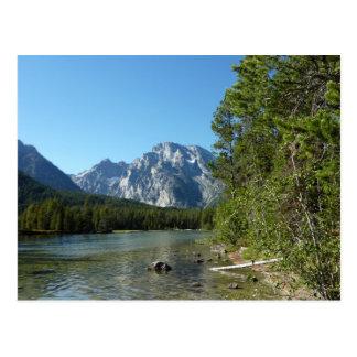 Leigh Lake at Grand Teton National Park Postcard