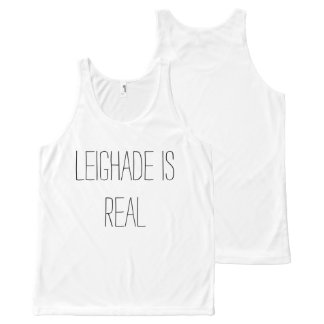Leighade is Real tanktop All-Over Print Tank Top