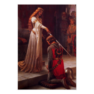"Leighton ""The Accolade"" Poster"