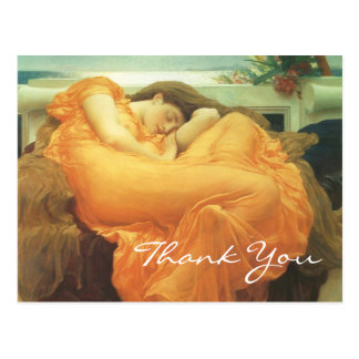 Leighton's Flaming June Postcard