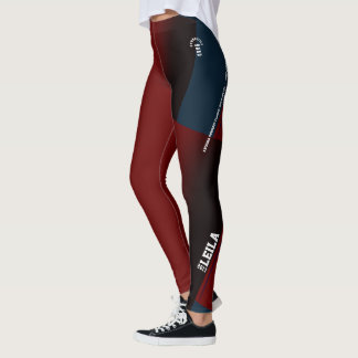 Leila Gymnastics Leggings with Meets