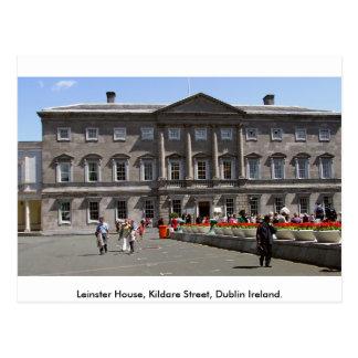 Leinster House, Kildare St. Dublin City, Ireland Postcard