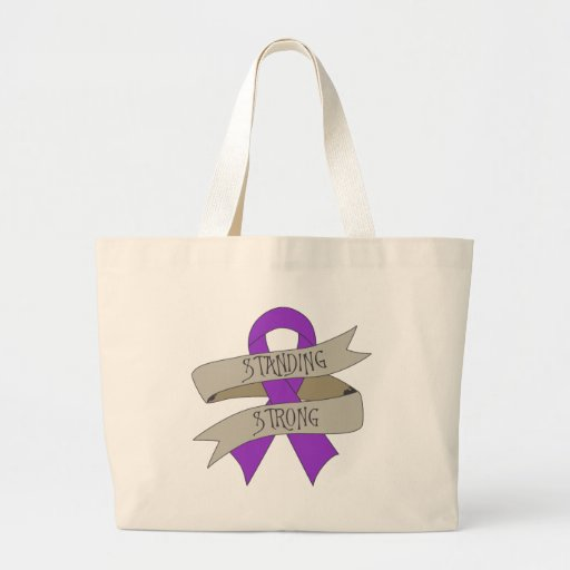 Leiomyosarcoma Standing Strong Tote Bags
