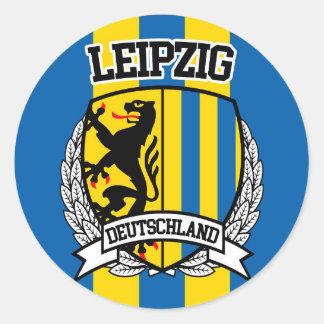 Leipzig Classic Round Sticker