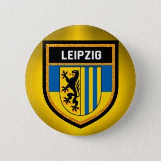 Leipzig Flag 6 Cm Round Badge