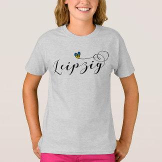 Leipzig Heart Tee Shirt, Germany