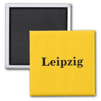 Leipzig magnet - sign gold Gleb