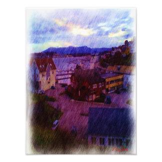 Leirvik photo painting