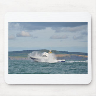 Leisure Fishing Boat Mouse Pads