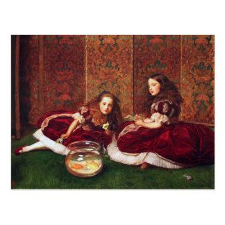 Leisure Hours - John Everett Millais Postcard