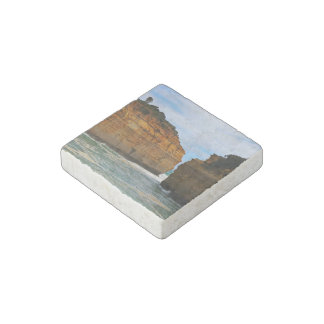 Leisure Themed, Two Cliffs Face Each Other Separat Stone Magnet