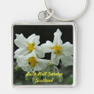 Leith Hall Garden Flower Key Chain