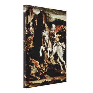Lelio Orsi - St George Canvas Prints