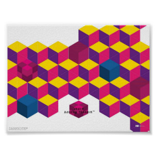 LeLi's Blocky Terrain™ Poster